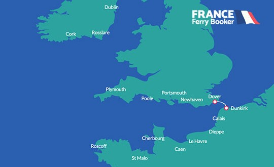 Dover to Dunkirk France Ferry Booker