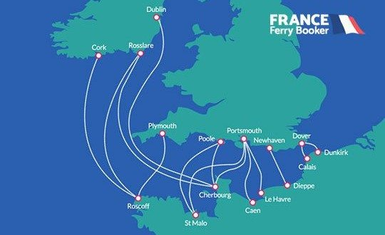 Ferry Crossings from the UK to France