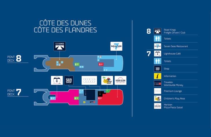 Côte Des Dunes Deck Plan
