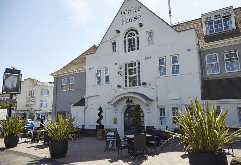 White Horse Hotel Rottingdean France Ferry Booker