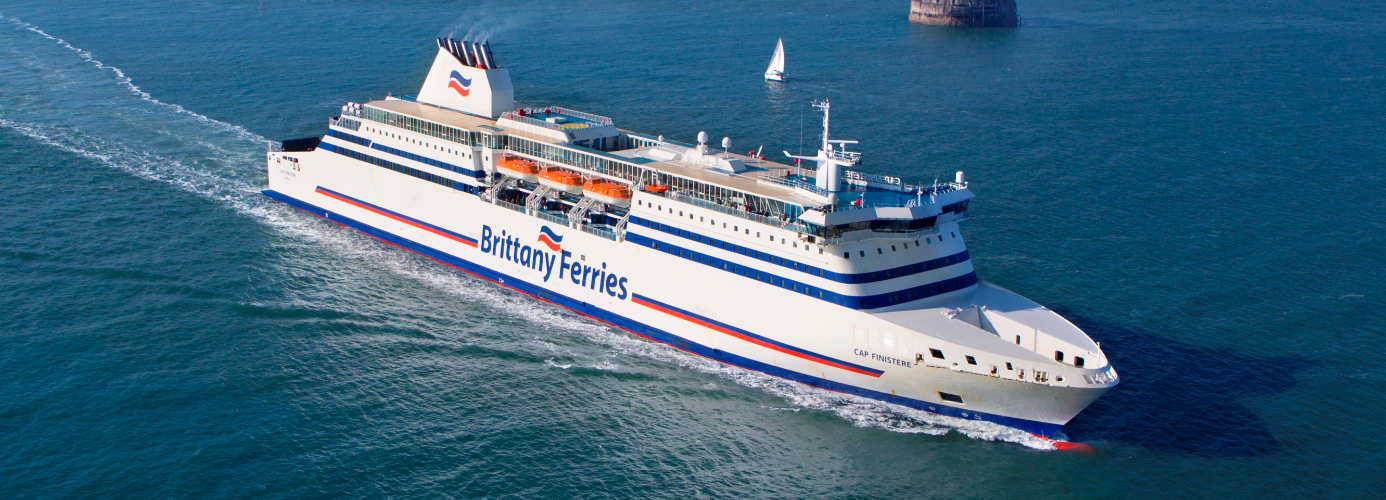 Brittany Ferries Ship