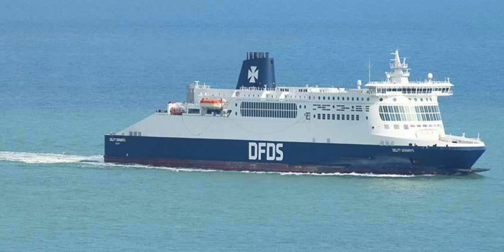How long is the ferry from Dover to Calais?