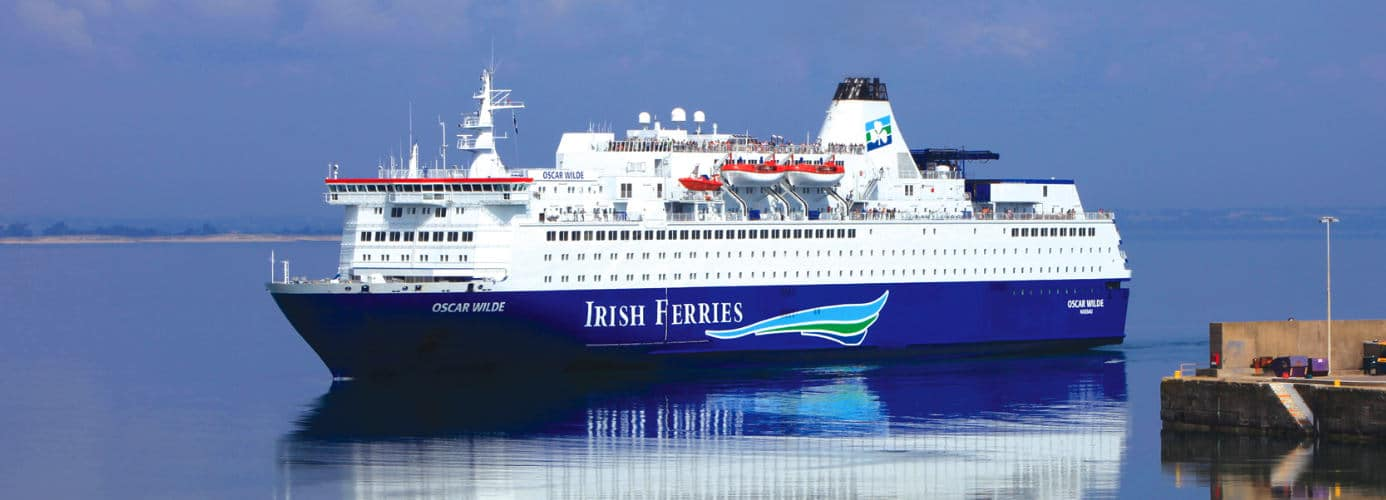 Irish Ferries Oscar Wilde Ship