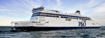 Travel to France by ferry with P&O Ferries